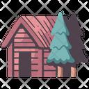 Cottage Village House Icon
