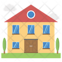 Lodge Historical Place Building Icon