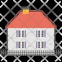 Cottage House Farmhouse Icon