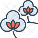 Cotton Fabric Natural Icon