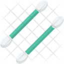 Cotton Balls Buds Icon