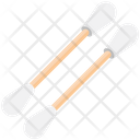 Cotton Buds Cleaning Earbuds Icon