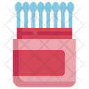Cotton Buds Cosmetics Icon