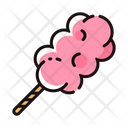 Cotton Candy Sweet Candy Icon