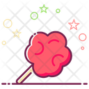 Cotton Candy Candy Floss Marshmallow Candy Icon