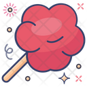Cotton Candy Candy Floss Sweet Candy Icon