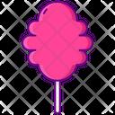 Cotton Candy Dessert Sweet Icon