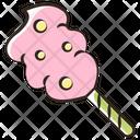 Candy Cotton Dessert Icon