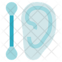 Hygiene Cotton Ear Buds Icon