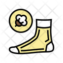 Cotton Material Sock Icon