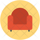 Couch Divan Furniture Icon