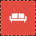 Couch Interior Furtniture Icon