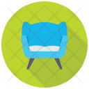 Settee Sofa Furniture Icon