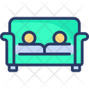 Couch Furniture Sofa Lounge Icon
