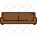 Wide Couch Sofa Icon