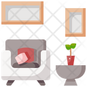 Couch Furniture Sofa Icon