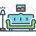 Couch Sofa Daybed Icon