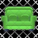 Sofa Settee Seat Icon