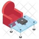 Couch And Table Icon