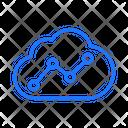 Coud analytics Icon