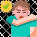 Cough Epidemic Quarantine Icon