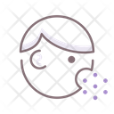 Coughing Cough Virus Icon