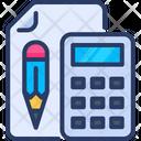 Calculator Count Paper Icon