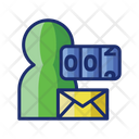 Count User Mail Icon
