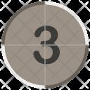 Movie Countdown Three Icon