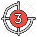 Countdown Counter Launch Procedure Icon