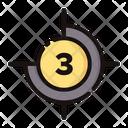 Countdown Timer Film Icon