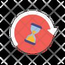 Countdown Timer Sandglass Icon