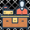 Counter Slug Reception Icon