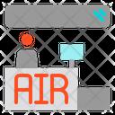 Counter Service Airport Icon