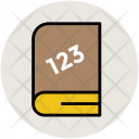 Counting Book Math Icon