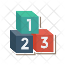 Counting Winners Podium Icon