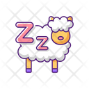 Counting Sheep Insomnia Icon