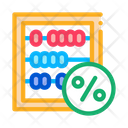 Counting Tax Percentage Icon
