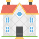 Farmhouse Agricultural Rural Icon