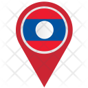 Country Pointer Geo Icon
