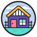 Countryside Chalet Cottage Icon