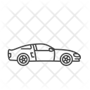 Coupe Sedan Auto Icon