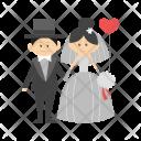 Bride Groom Couple Icon
