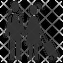 Couple Mate Passengers Icon