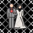 Couple Bride Groom Icon