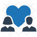 Couple Family Heart Icon