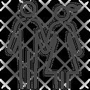 Couple Marriage Family Icon