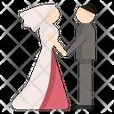 Wedding Couple Love Icon
