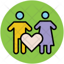 Couple Husband Wife Icon