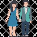 Couple Dating Matrimonial Icon